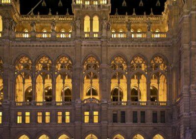 Bild zeigt: Wien - Rathaus 2