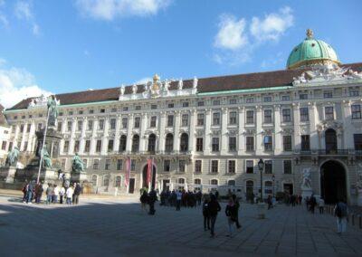 Bild zeigt: Wien - Reichskanzlei Trakt der Hofburg