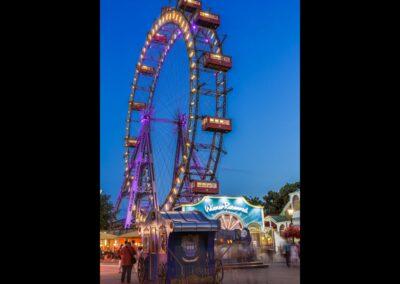 Bild zeigt: Wien - Riesenrad im Prater