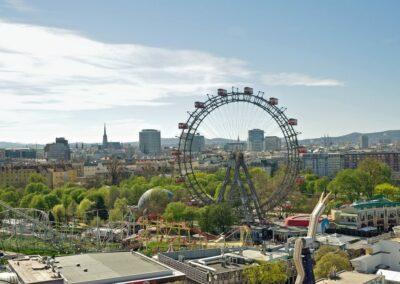 Bild zeigt: Wien - Riesenrad im Prater 6