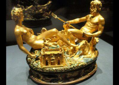 Bild zeigt: Wien - Saliera von Benvenuto Cellini
