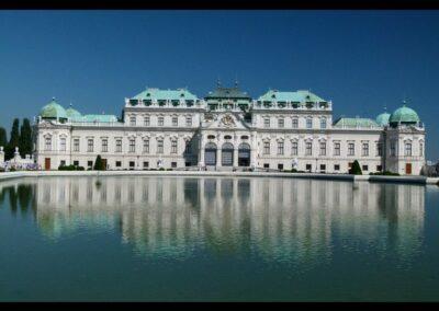 Bild zeigt: Wien - Schloss Belvedere 2