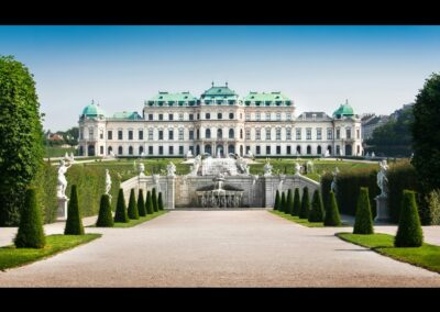 Bild zeigt: Wien - Schloss Belvedere