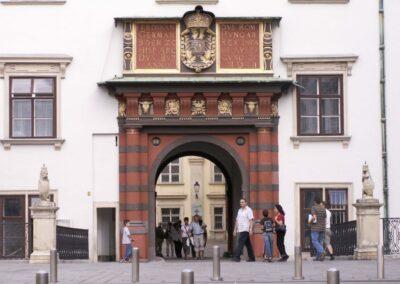Bild zeigt: Wien - Schweizertor