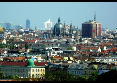Bild zeigt: Wien - Stadtansicht
