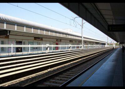 Bild zeigt: Wien - Station Siebenhirten der U-Bahn