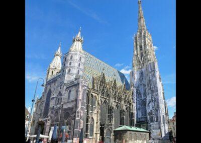 Bild zeigt: Wien - Stephans Dom 2