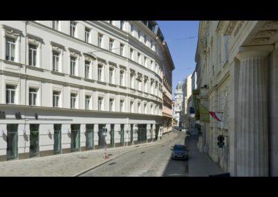 Bild zeigt: Wien - Strasse in Wien