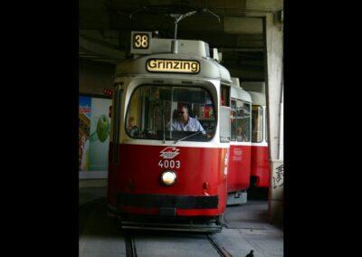 Bild zeigt: Wien - Strassenbahn nach Grinzing