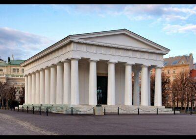 Bild zeigt: Wien - Theseustempel Bauwerk im Volksgarten