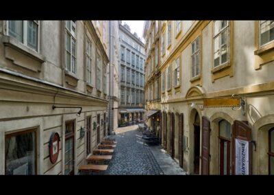 Bild zeigt: Wien - Typische Gasse