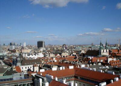 Bild zeigt: Wien - Über den Dächern Wiens