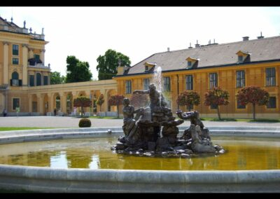 Bild zeigt: Wien - Westliche Ehrenhof Brunnenanlage