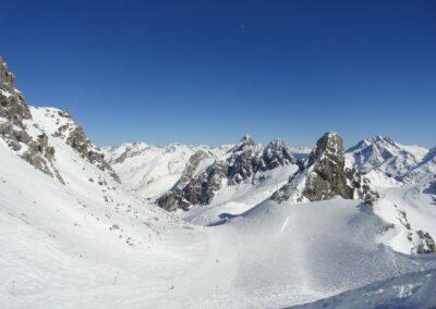 Bild zeigt: Winter in den Lechtaler Alpen