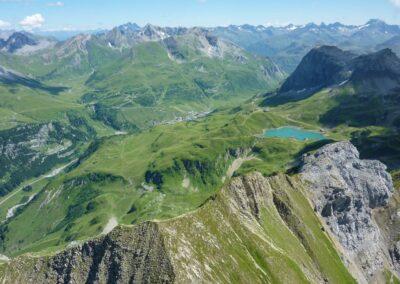 Bild zeigt: Zürsersee oberhalb Lech am Arlberg